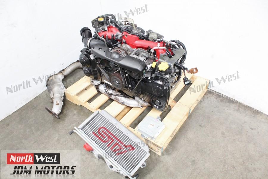 JDM 02-03 Subaru Impreza WRX STI EJ207 Turbo Engine AVCS Quad Cam Motor  2 0L - Japanese Car Parts