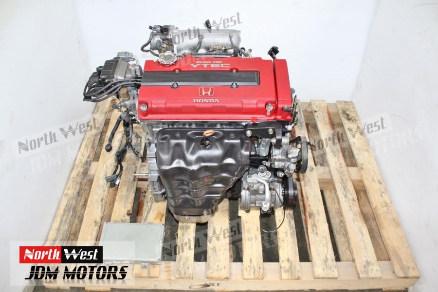 jdm 98 01 acura integra type r dc2 b18c dohc vtec engine longblock