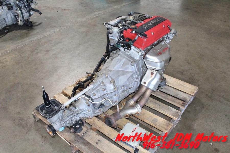 JDM Honda S2000 AP1 F20C DOHC Engine 6 Speed RWD Transmission S2K F22C - Japanese Car Parts