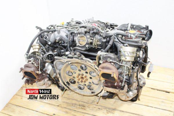 JDM 98-03 Subaru Legacy Twin Turbo EJ206 EJ208 Engine 2.0L B5 BH