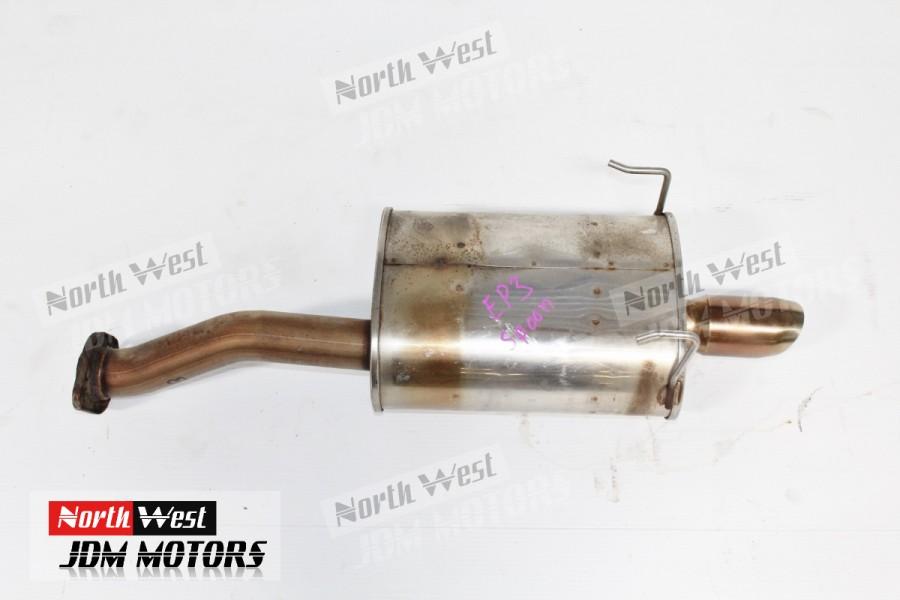Jdm Honda Civic Ep3 Spoon Axle Back Exhaust Muffler: Civic Axle Back Exhaust At Woreks.co