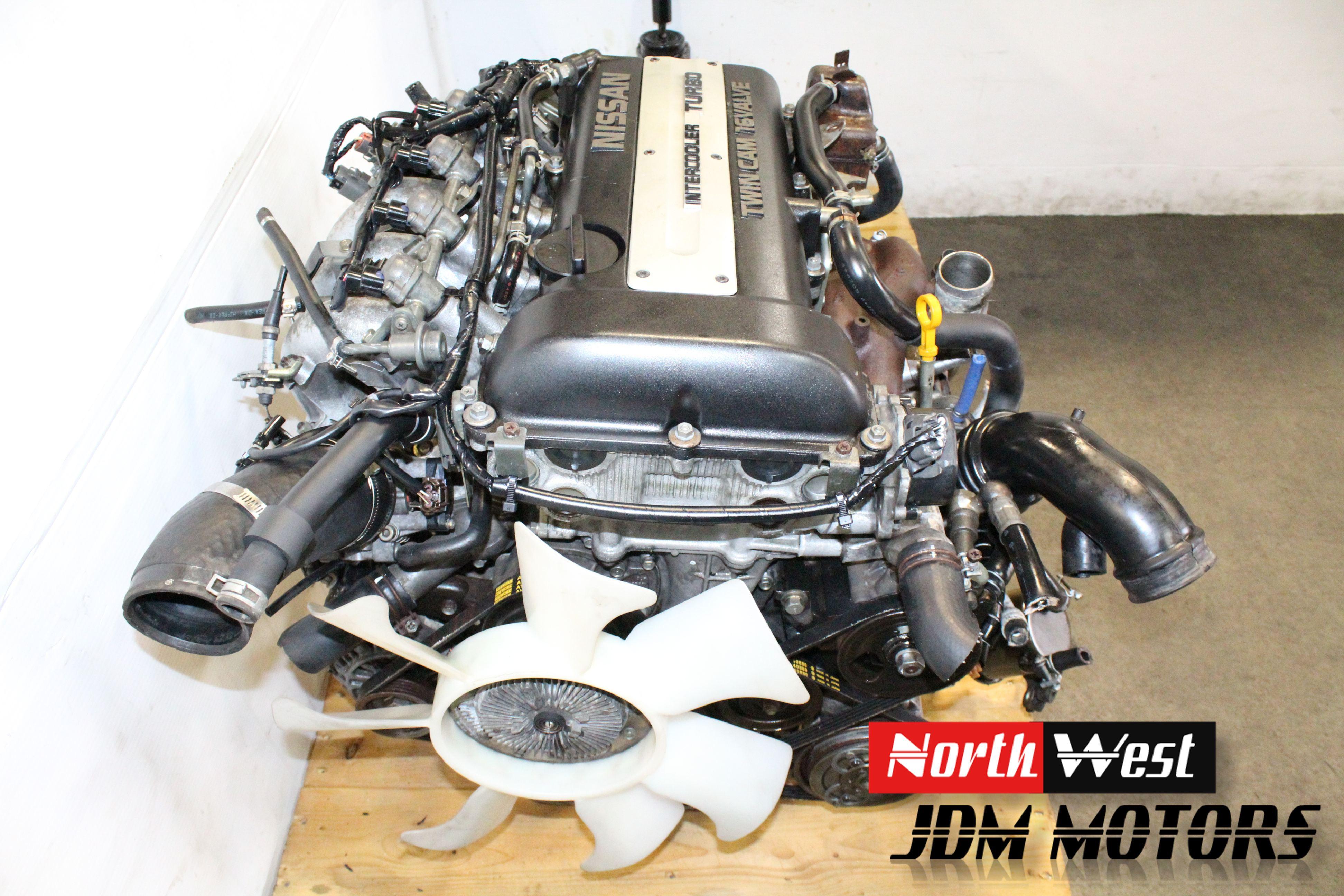 Jdm Nissan Sr20det Engine 5 Speed S13 Sr20 Turbo 180sx Silvia 240sx Japanese Car Parts